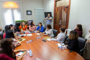 Font-Frías se reunió con el Comité Ejecutivo del SRSM