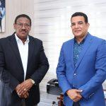 Director SRSM recibe visita empresario Richard Ortiz